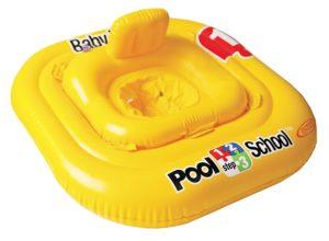 gelber Schwimmring für baby