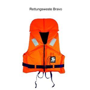 Secumar Rettungsweste Bravo auf weissem Grund